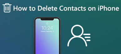 Supprimer des contacts sur iPhone