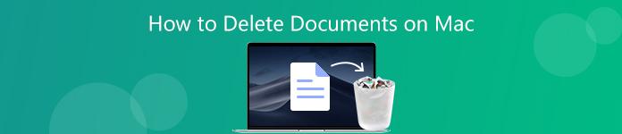 Dokumente auf dem Mac löschen