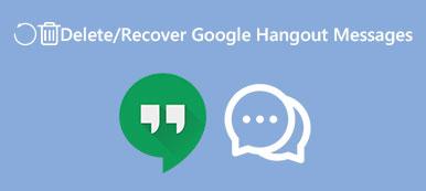 Supprimer l'historique de Hangout