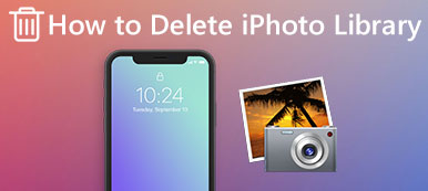 How to Delete iPhoto Library