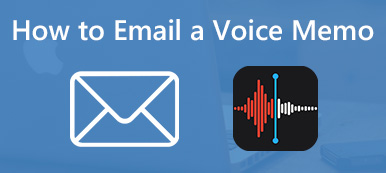 Email a Voice Memos on iPhone