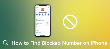 Find Blocked Numbers on iPhone