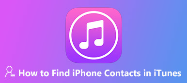 Comment trouver les contacts iPhone dans iTunes