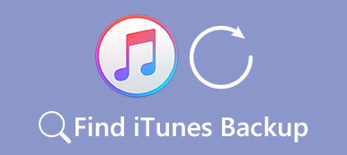 Find iTunes Backup
