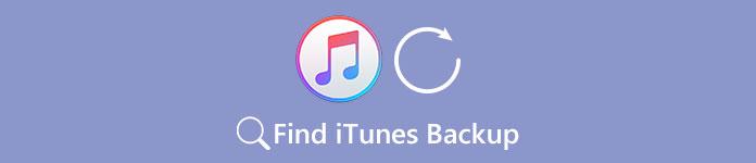 Trouver la sauvegarde iTunes