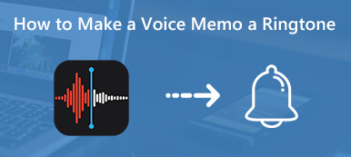 Comment transformer un mémo vocal en sonnerie