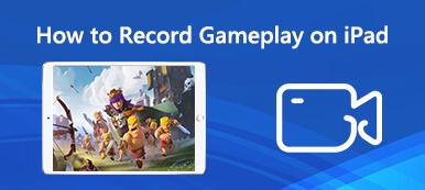 Wie man das Gameplay auf dem iPad aufzeichnet