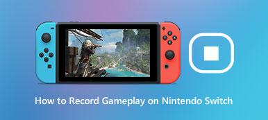 Nintendo Switchでゲームプレイを記録する