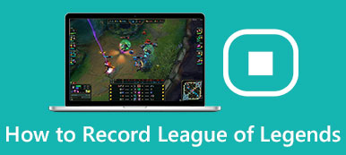 Wie man League of Legends aufnimmt