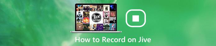 Comment enregistrer sur Jive