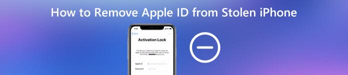 So entfernen Sie die Apple ID vom gestohlenen iPhone