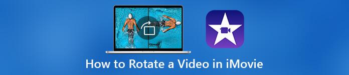 Faire pivoter une vidéo dans iMovie