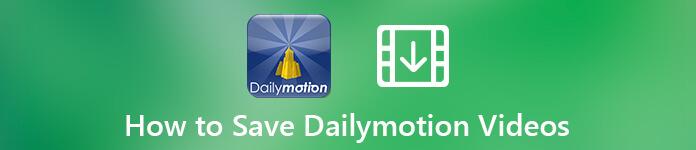Speichern Sie ein Video von Dailymotion