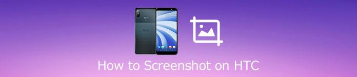 Comment faire une capture d'écran sur HTC