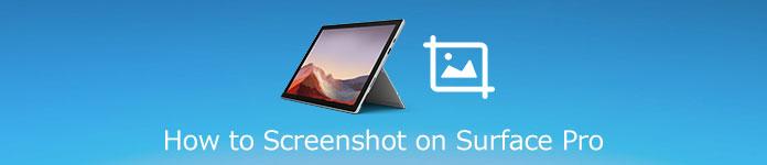 Comment faire une capture d'écran sur un Microsoft Surface Pro