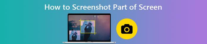 Wie Screenshot Teil des Bildschirms