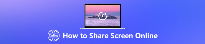 Bildschirm online teilen
