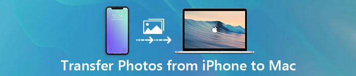 Übertragen Sie Fotos vom iPhone auf den Mac