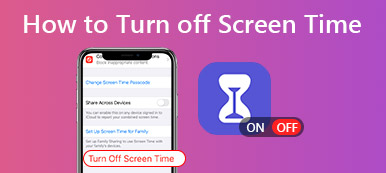 Turn off Screen Time