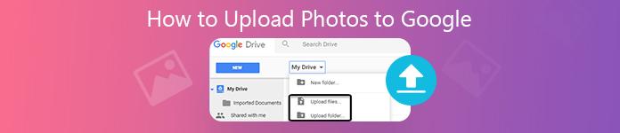 Comment télécharger des photos sur Google Drive