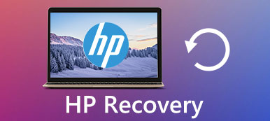 HP recovery partition