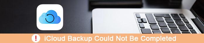 iCloud Backup n'a pas pu être terminé