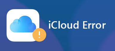 Erreur iCloud