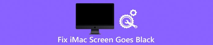 iMacの画面が真っ黒になる