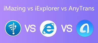 iMazing vs iExplorer vs AnyTrans