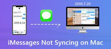 iPhone iMessages not syncing to Mac