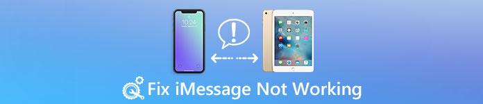 iMessageが機能しない