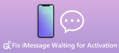 iMessage en attente d'activation