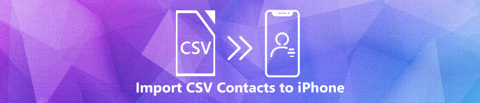 Import CSV Contacts to iPhone