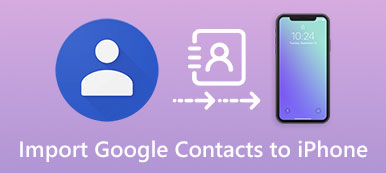 Importer Google Contacts sur iPhone