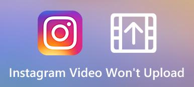 Instagram-Video wird nicht hochgeladen