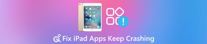 iPadアプリがクラッシュし続ける