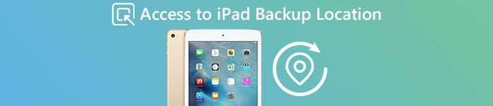 iPad Backup Location