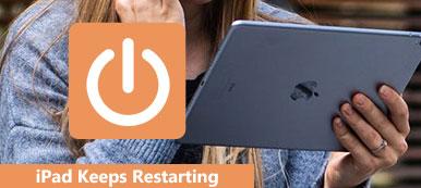 Das iPad wird immer wieder neu gestartet