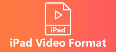 Format vidéo iPad