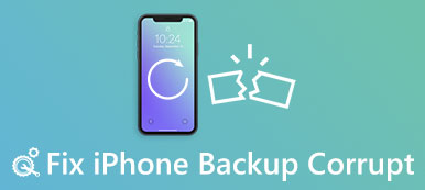 Réparer l'iPhone Backup corrompu