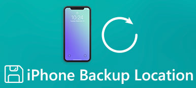 iPhone Backups Stored