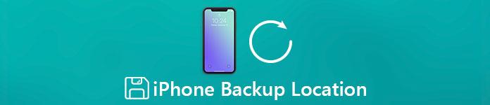 iPhone-Backups gespeichert