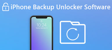 iPhone Unlocker de sauvegarde