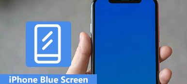 iPhone Blue Screen