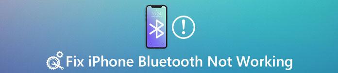 iPhone Bluetooth ne fonctionne pas