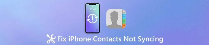 iPhone Kontakte werden nicht synchronisiert