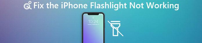 Taschenlampe funktioniert nicht auf dem Iphone