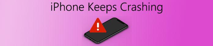 Iphone continue de s'écraser