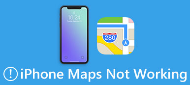 iPhone Maps ne fonctionne pas