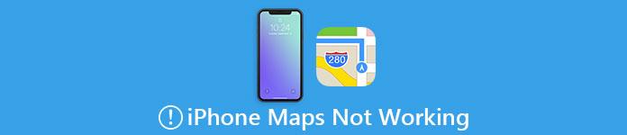 iPhoneマップが機能しない
